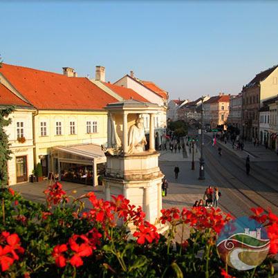 Galeria_Miskolc_Főutca_az _erkélyről